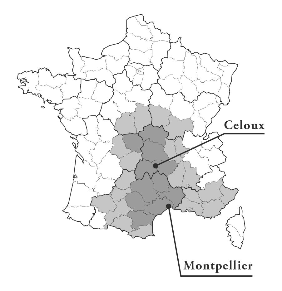 Zone d'intervention Bureau7