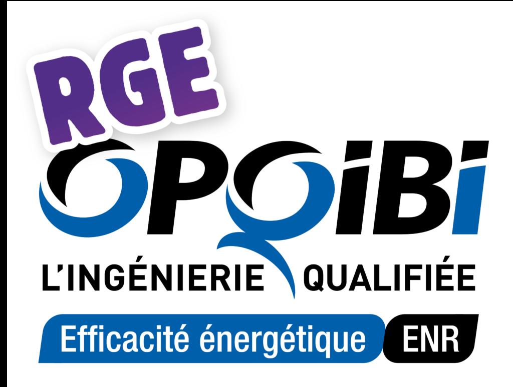 OPQIBI Performance Energétique (Audit énergétique 1911 et 1905)
